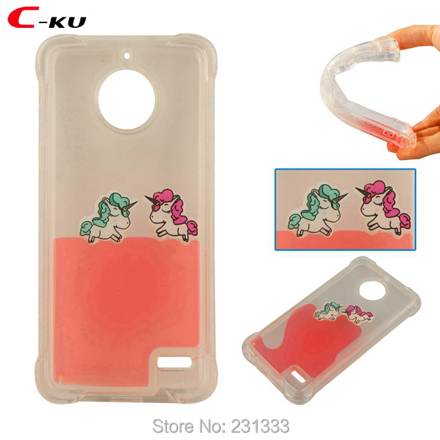 Flavor In Kind-Hearted C-ku Shockproof 3d Liquid Unicorn Soft Tpu Case For Huawei P10 P8 Lite 2017 For Zte Zmax Pro 2 Z982 Quicksand Clear Skin 100pcs Fragrant