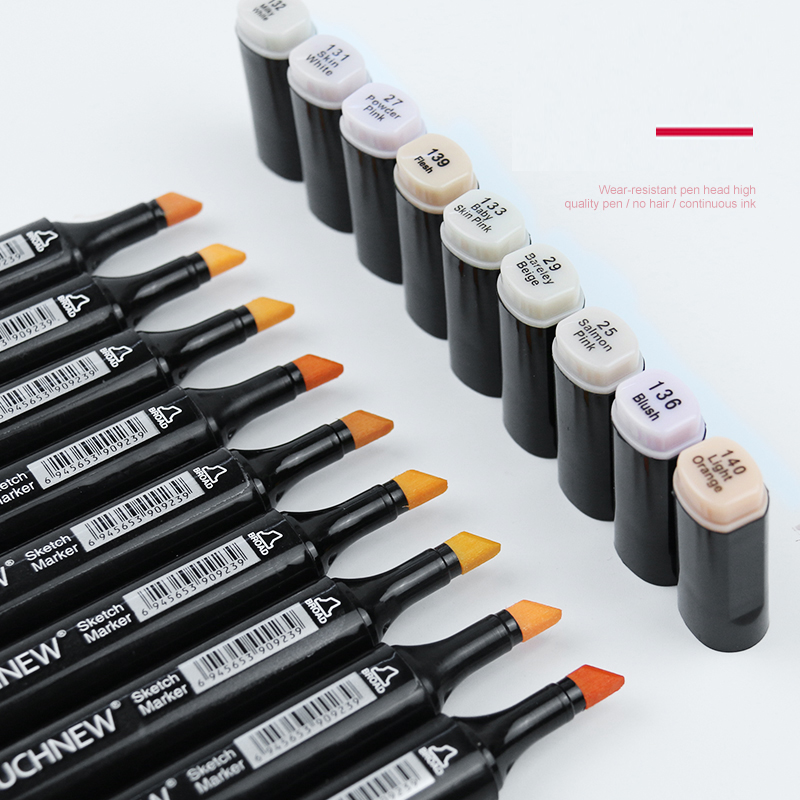 Image 5 - TOUCHNEW 30/40/60/80 Colors Art Markers Alcohol Based Markers Drawing Pen Set Manga Dual Headed  Art Sketch Marker Design PensArt Markers   -