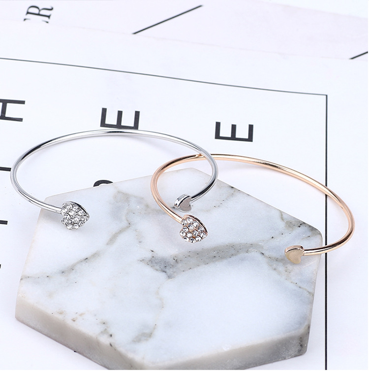 New-Arrival-Romantic-Heart-Design-Women-Crystal-Open-Cuff-Bangles-with-Watch-Accessories-Golden-Plated-Wedding(6)