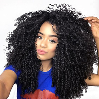 Kinky Curly Wig Lace Front Human Lace Wigs For Women With Baby Hair 130 Density Pre Plucked You May Remy Indian Human Hair Wigs
