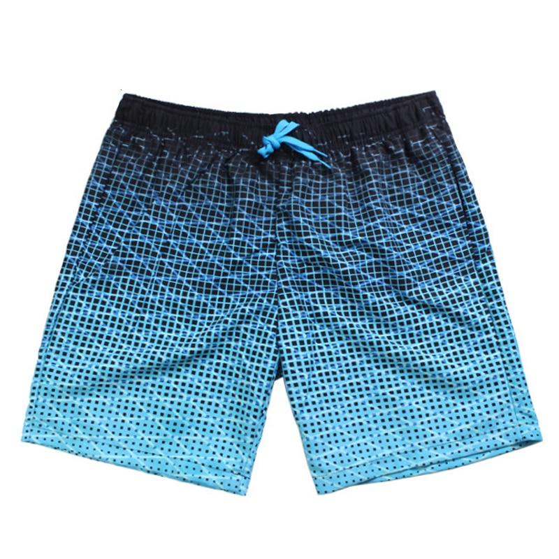 Summer Men's Beach Shorts Plaid brand Board short Straps Bermuda Masculina Asia size S-XXL