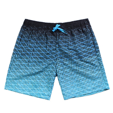 купить Summer Men's Beach Shorts Plaid brand Board short Straps Bermuda Masculina Asia size S-XXL по цене 566.64 рублей