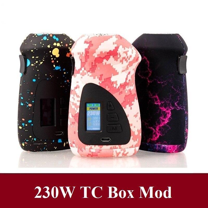 ORBITER 230W contrôle de température électronique Cigarette électronique moule double 18650 boîte de batterie MOD VS Voopo glisser 157 VAPE MOD
