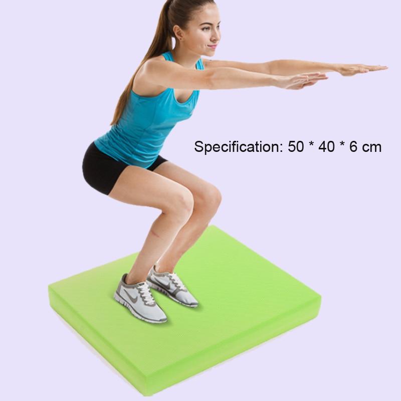Anti slip soft balance pad TPE yoga block pad thick balance pad balancer fitness training yoga