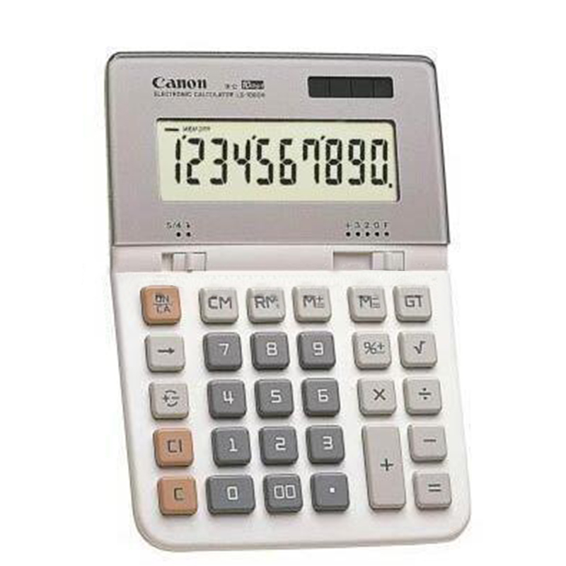 1 Piece Canon LS-1000H Desktop 10-bit Display Calculator Office Daily Business Medium Computer 1 piece canon as 120 genuine curved body design classic 12 big screen calculator authentic free shipping