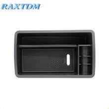 Центральный подлокотник коробка для хранения для Audi A3 S3 2012-2017 контейнер держатель лотка аксессуары автомобильный Органайзер автомобильный Стайлинг