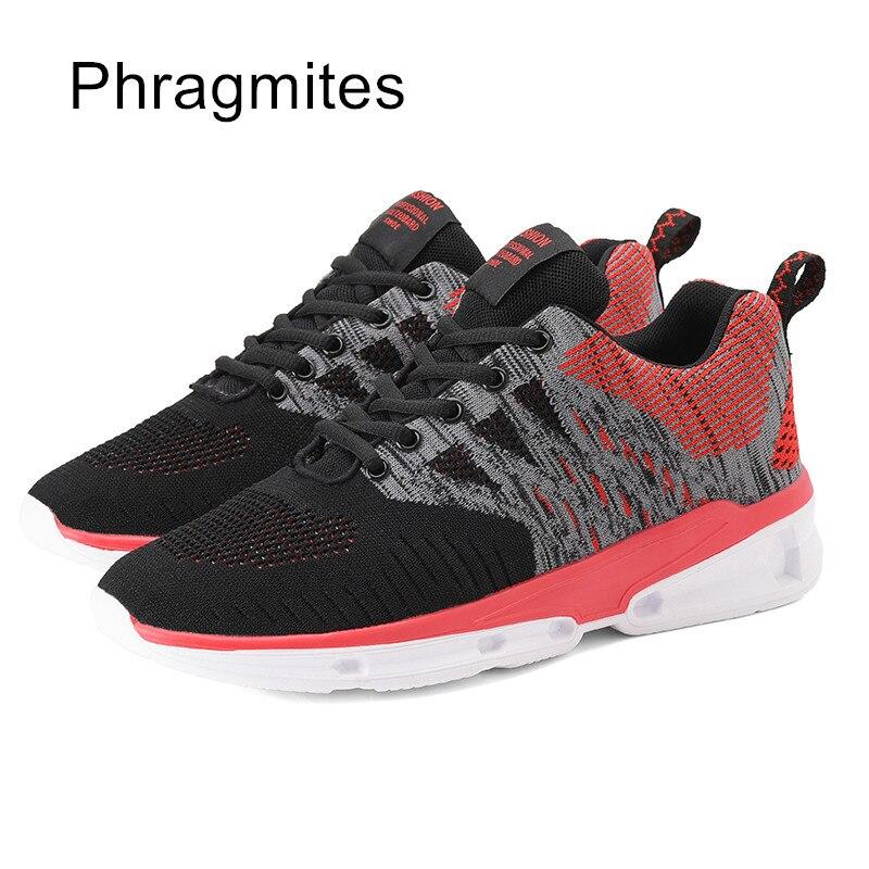 Phragmites blanc Noir Marque Printemps Chaussures Hommes gris Respirant Automne Sneakers Casual rrRxqUv7