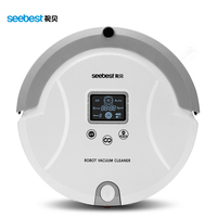 Seebest C561 Robotic Vacuum Cleaner Auto Clean Spot Clean For Carpet Wooden Floor With LCD Screen