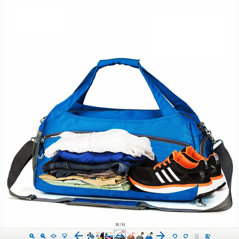 New Style Sport Bags For Gym Women Men Travel Storage Bag Woman Oxford Waterproof Dry And Wet Separation Swim