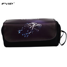 Hot Sell Cosmetic Cases Game Movie Pencil Case OW/Zelda Make Up Bag(China)