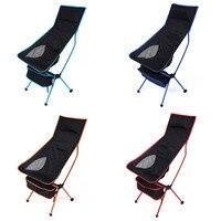 Léger Chaise De Pêche Professionnel Pliant Camping Tabouret Pliable Chaise D'extérieur pour Pêche Pique-Nique BARBECUE sur la Plage Avec Sac