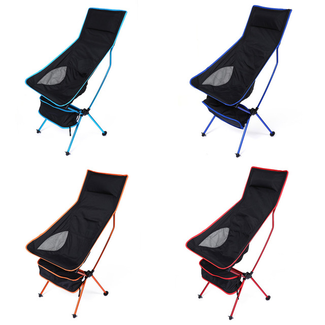 Fishing Chair Lightweight How To Raise A Office Height Professional Folding Camping Stool Foldable Outdoor For Picnic Bbq Beach With Bag