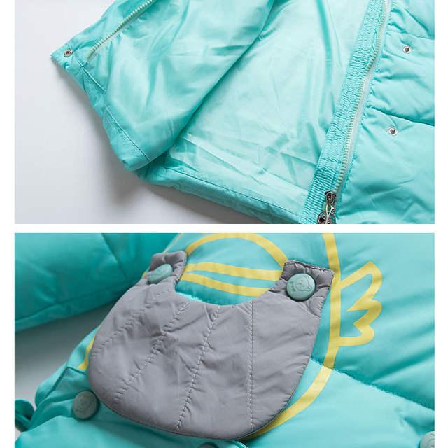 3582cdca9 Online Shop Children Down Sleeping Bag Kids Winter Envelopes Baby ...