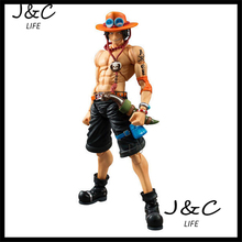 Free Shipping High quality Japanese Anime Model One Piece 18cm Large Size Ace Action Figure Model Toys for gifts