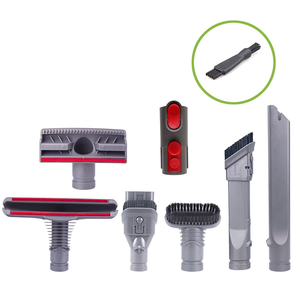 Vacuum Cleaner Part Accessories for Dyson V8 V7 V6 DC58 DC59 DC61 DC62 Replacement Dyson Handheld Durable Washable Brush Heads пылесос dyson v6 plus