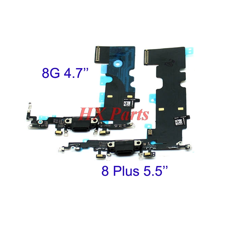 USB Charging Port Flex Cable For iPhone 8, 8 Plus  USB  Charger Dock Connector Flex Cable Replacement Parts