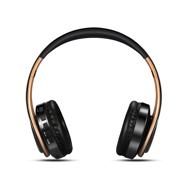 Wireless Bluetooth Stereo Headset with Built-In Mic