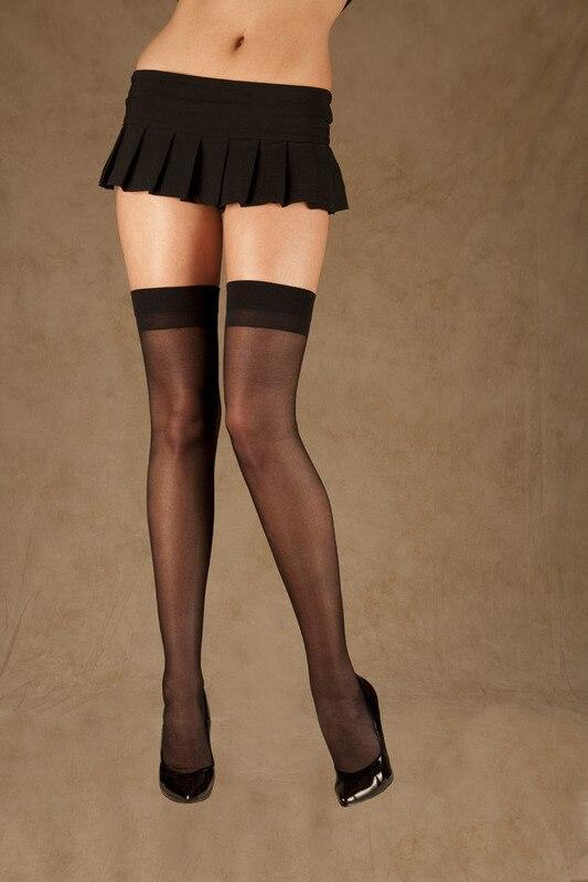 4b51d949315ea Sexy Stockings Thigh High Stockings 3S8110 Top Quality Black Cuban ...