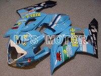 Motorcycle Part Mold For Suzuki GSXR 1000 K5 2005 2006 Injection ABS Fairing Kits GSXR1000 K5 05 06 Rizla+ Blue/Black