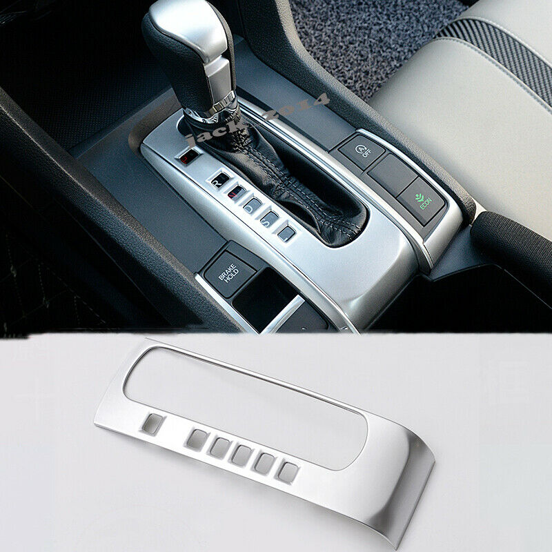 2pc chrome ABS Inner Seat Adjust Button Case Cover Fit For Honda Accord 2018