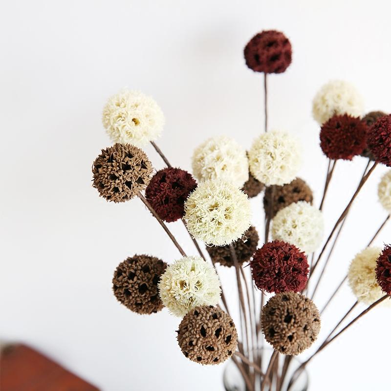 4 Teile Los Hochzeit Dekoration Natrliche Blume Requisiten Wohnzimmer Tisch Floral GeschenkChina