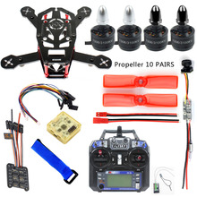 DIY 150 MINI FPV Racing Drone Kit H150 Frame 1306 3100KV CW CCW Motor 12A ESC CC3D FC VTX+CAMERA 25mw FS-i6 Remote Control