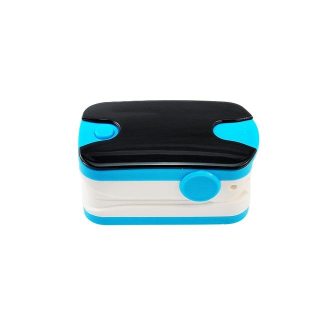 جديد اللون الأزرق oled الإصبع نبض مقياس التأكسج مع الصوت انذار و نبض الصوت spo2 مراقب الإصبع مقياس التأكسج النبض