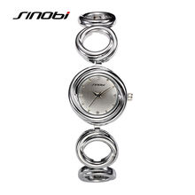 SINOBI Bracelet Watches Women Fashion Quartz Watch Ladies Steel Wristwatch Clocks Female 2016 New Mujeres Relojes Hour Gift G64