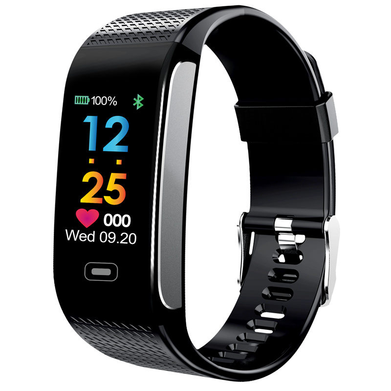 CK18S Smart Wristband Blood Pressure Heart Rate Fitness Bracelet Tracker for Android IOS Samsung Huawei Xiaomi Iphone Smartphone цена