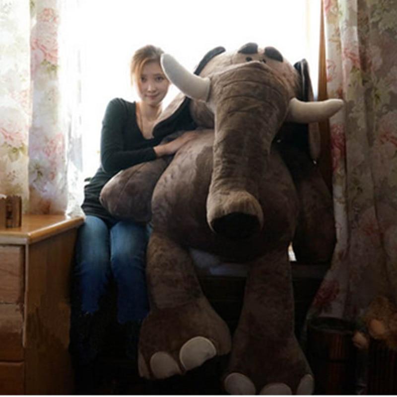 Fancytrader Biggest Plush Elephant Toys Giant Soft Stuffed