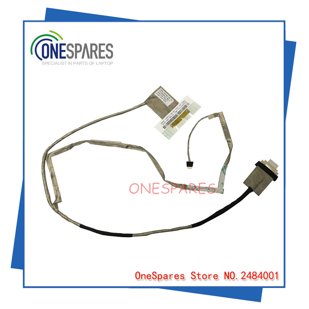 Free Shipping LVDS LED Cable Lenovo G580 G585 G580A G480 G485 laptop QIWG6 video screen LCD LVDS cable DC02001ET10 Genuine New