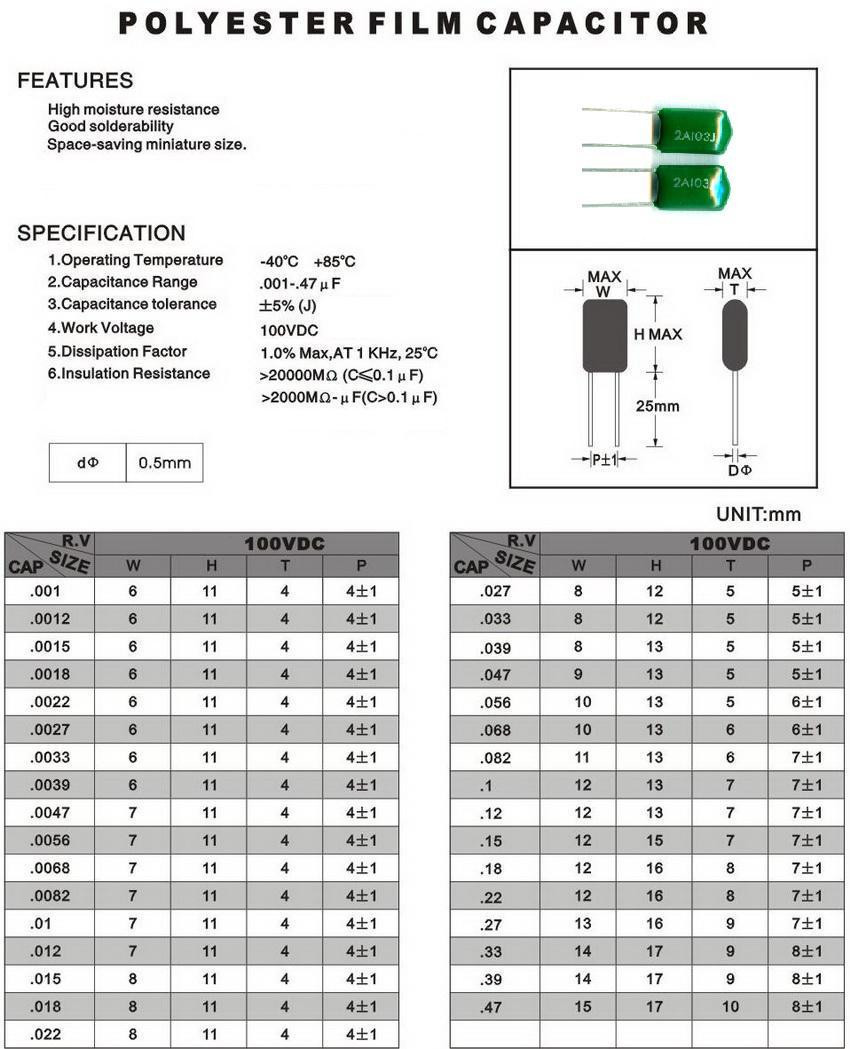 capacitor assortment kit