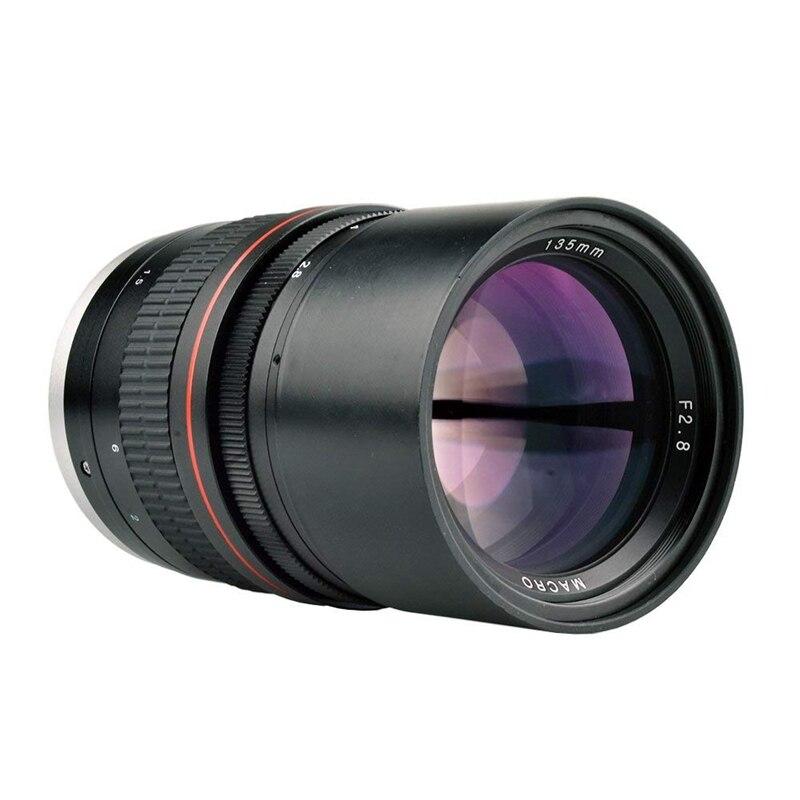 Lightdow 135mm F/2.8 Fe Umc Full Frame Telephoto Macro Lens For Canon Rebel Eos 80D 77D 70D 60D 50D 7D 6D 5D 5Ds 1Ds T7I T7S TLightdow 135mm F/2.8 Fe Umc Full Frame Telephoto Macro Lens For Canon Rebel Eos 80D 77D 70D 60D 50D 7D 6D 5D 5Ds 1Ds T7I T7S T