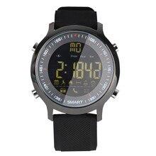 Ограниченное предложение Новый ex18 Смарт-часы трекер Bluetooth 4.0 Водонепроницаемый шагомер профессиональный Дайвинг спортивные Смарт-часы для iOS и Android