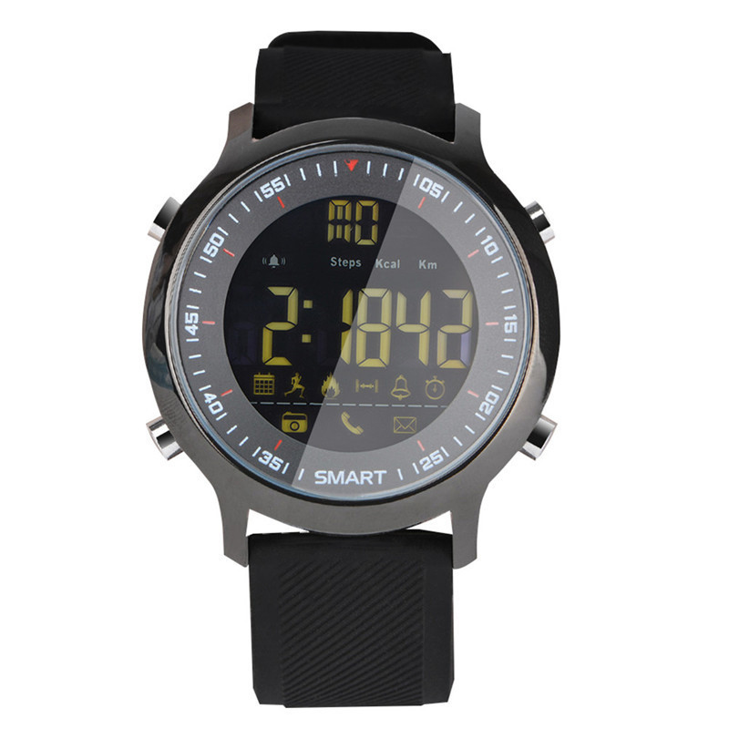 imágenes para Nueva EX18 Inteligente Reloj Actividad Rastreador Podómetro Bluetooth 4.0 Impermeable Profesional de Buceo Deportivo Reloj Inteligente para Android IOS