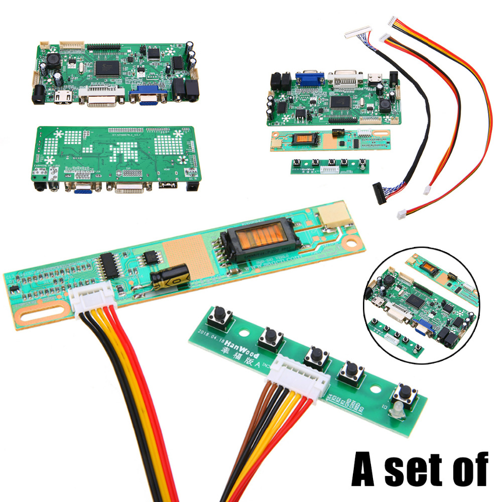 Video Games Dvi+vga Lcd Controller Board With 15 Lq150x1lw94 1024x768 Ips Lcd Panel Back To Search Resultsconsumer Electronics