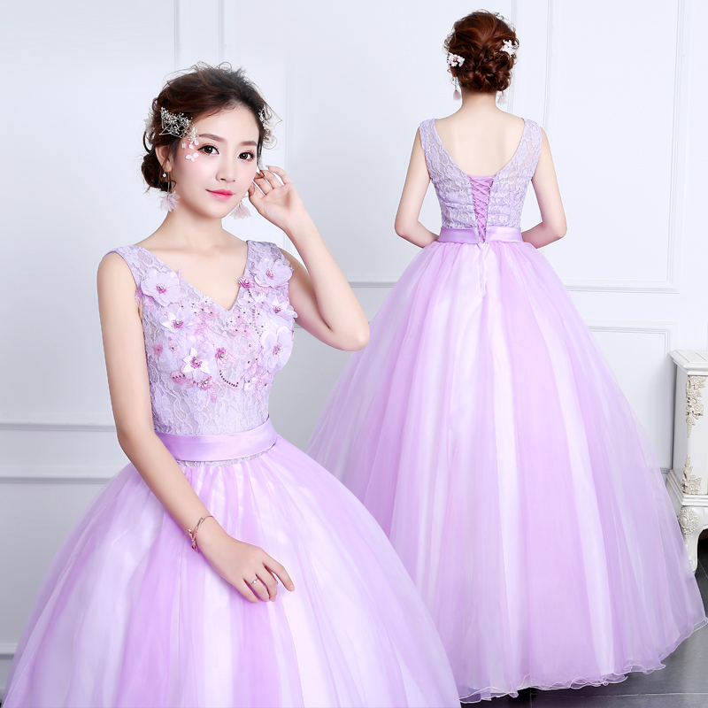 Humor 2019 New Quinceanera 15 Years Vestidos De 15 Anos Cap Sleeve Red Pink Lavender Quinceanera Gowns Party Dress
