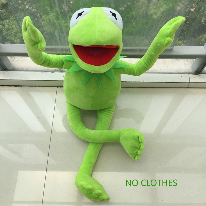 2016 Hot Sale 45cm frog superme dolls, pose frog doll, Plush Toys, Sesame Street  Stuffed Animal Plush Frog ,70cm frog  for gift 2017 hot sale plush soft toys doll stuffed animal toy plush green frog dolls with sucker for baby kids pillow christmas gift