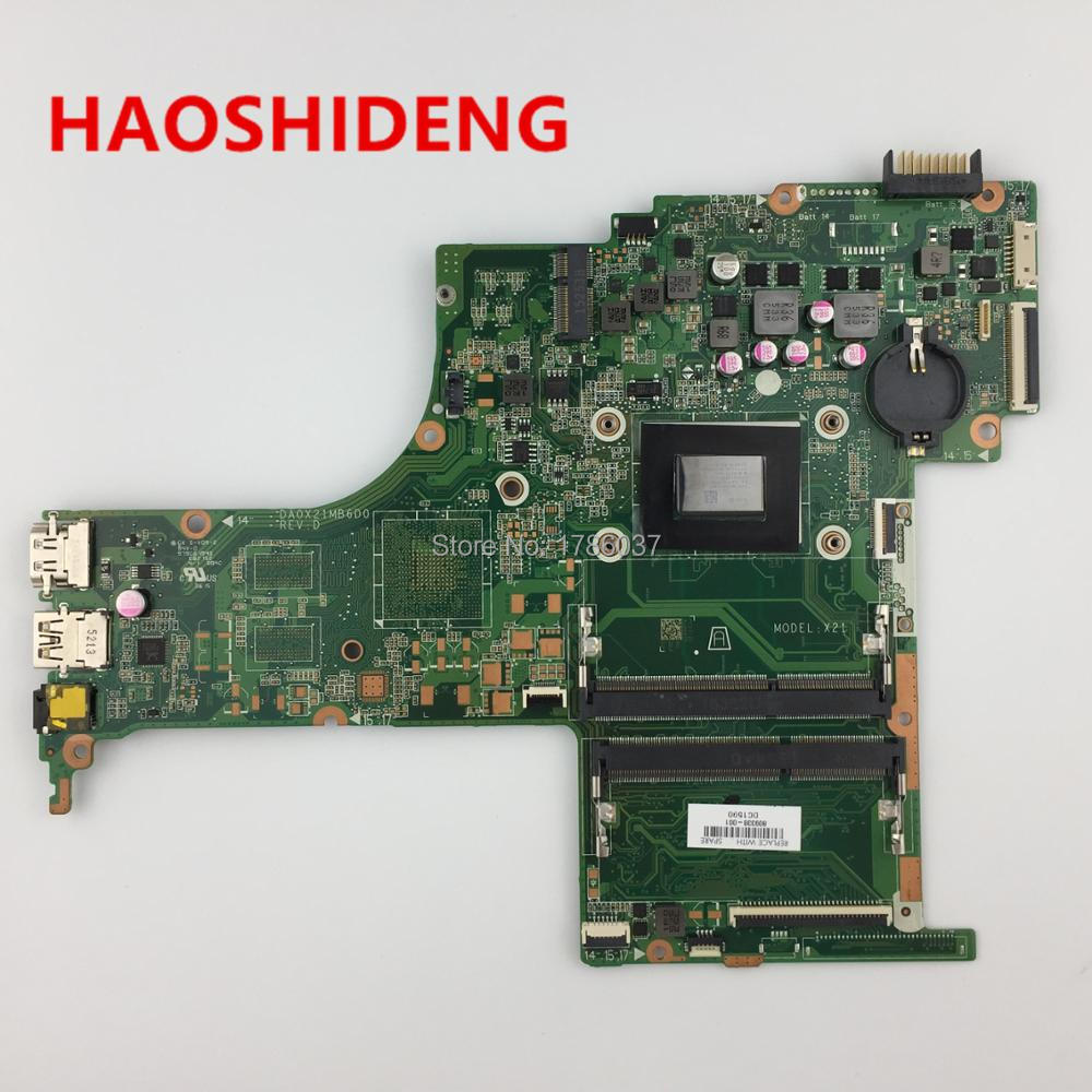 809338-001 809338-501 DA0X21MB6D0 X21 for HP Pavilion Notebook 15-ab series motherboard with A10-8700P CPU.All fully Tested! 744008 001 744008 601 744008 501 for hp laptop motherboard 640 g1 650 g1 motherboard 100% tested 60 days warranty