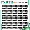 CNBTR 50PCS 32x50mm Carbon Steel Quick Release Saw Blades Oscillating Multitool