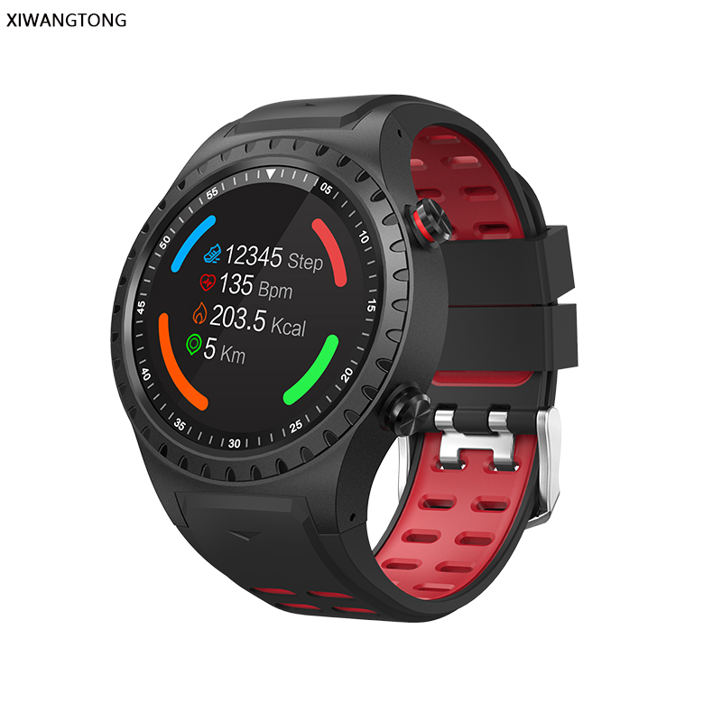 outdoor sports smartwatch with built in GPS and compass plus an accurate altimeter and real time