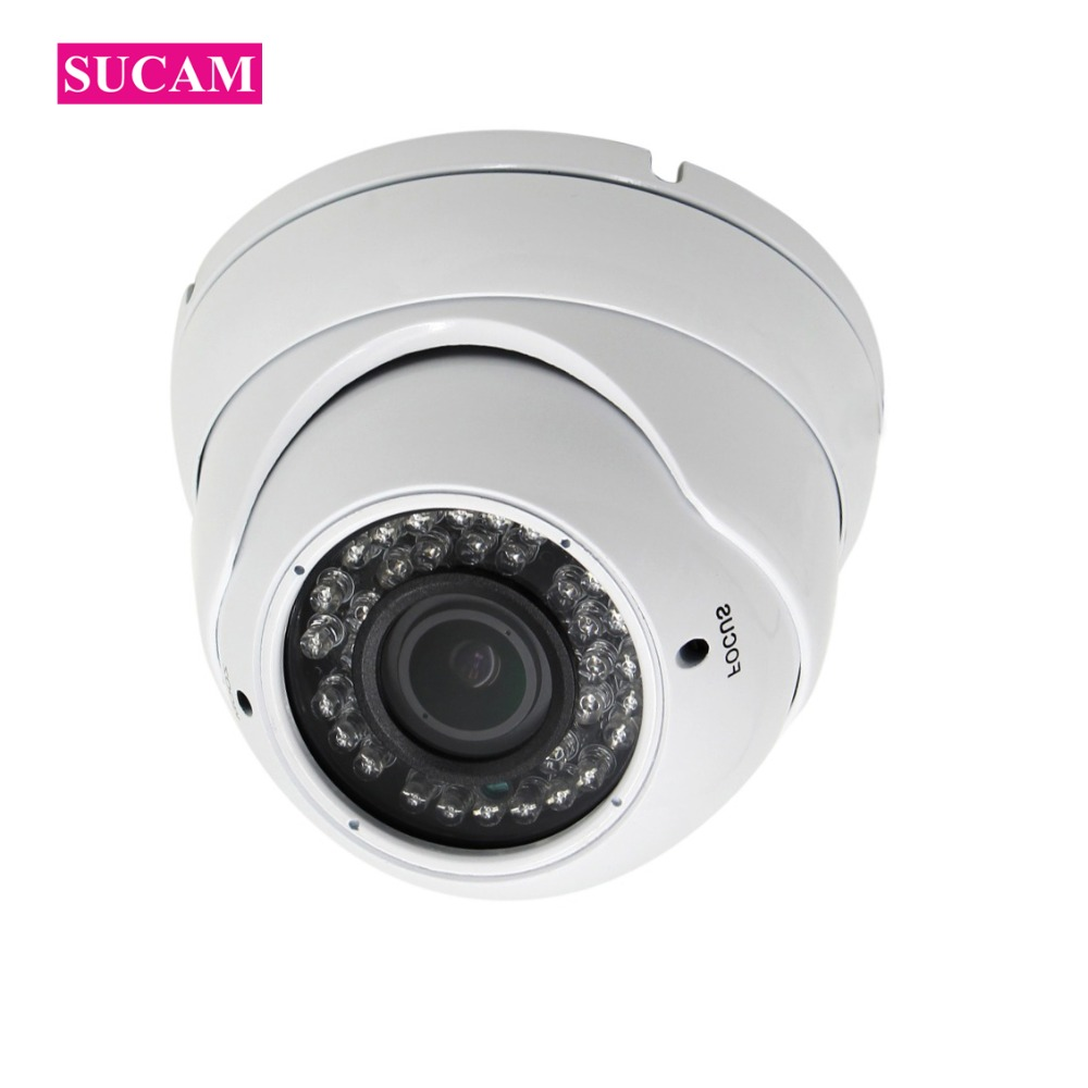 все цены на SUCAM 1080P Full HD Wired IP Camera 2.8-12mm Varifocal Lens Home Video Surveillance Security CCTV IP Camera 2MP ONVIF Cam
