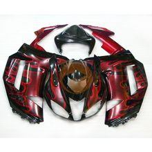 For Ninja ZX 6R 2007 2008 Injection Molding ABS Racing Bodywork Fairing (KB) [CK713]