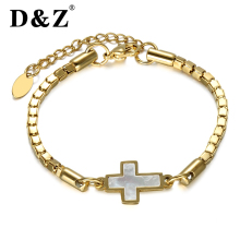 Christian Jewelry Cross Bracelet Titanium Stainless Steel