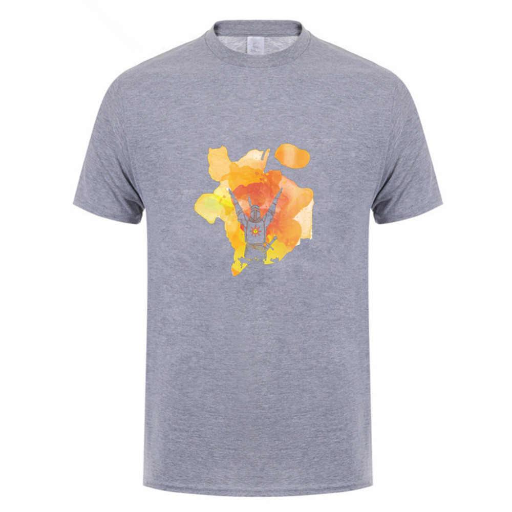2018クールダーク魂賞賛を太陽シャツ用男性短いスリーブハロウィンギフトtシャツ別注チームプラスサイズデザインをティーシャツ