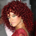 Heat resistant Red short Curly wigs for Black women natural synthetic curly Hair short Afro kinky curly  wig  Bob curly wig