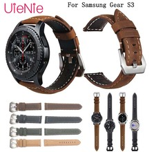 Genuine Leather 22mm watch strap Band for Samsung Gear S3 Frontier Classic strap for Huami Amazfit Stratos 2 2S bracelet bands 22mm genuine leather watch strap for samsung gear s3 classic frontier band for samsung r760 r770 huami amazfit pace stratos 2 1