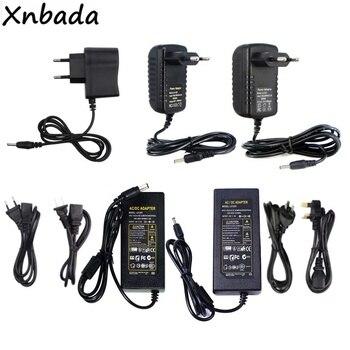 Alta calidad Adaptador de fuente de alimentación Led 12V 1A 2A 3A 5A 6A 7A 8A 10A 12.5A transformador Led para 5050, 5730, 2835, 3014 tira de Led