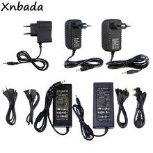 Xnbada Adapter do zasilacza 12V 1A-12.5A transformator oświetleniowy dla 5050 5730 2835 3014 taśmy Led