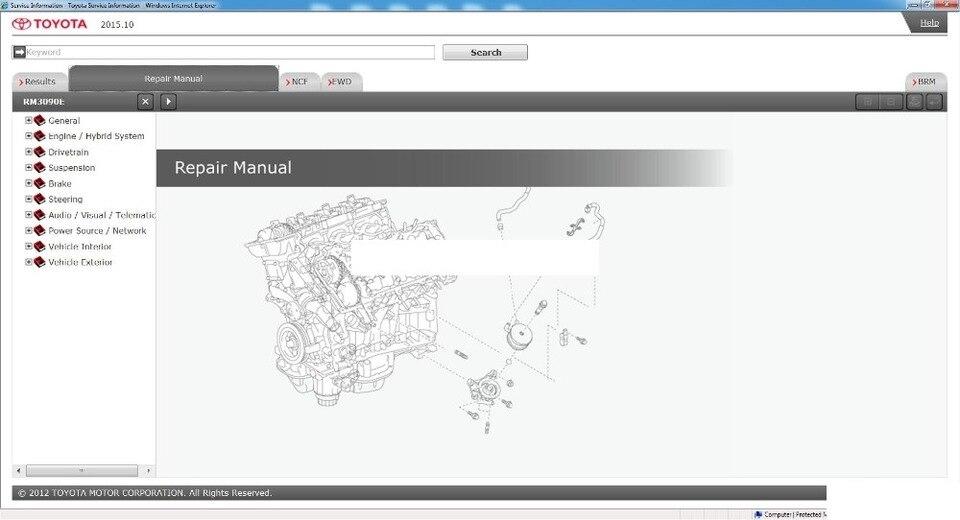 Toyota Corolla 2012 07 Workshop Service Manual Auto Repair Manual Forum Heavy Equipment Forums Download Repair Workshop Manual